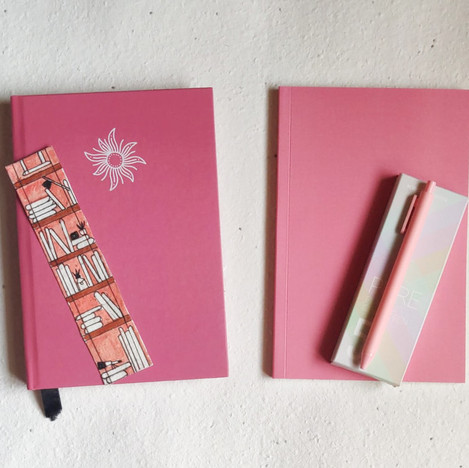 Dotted Notebook Gift Set