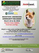 February - March: Community Fox Shoots