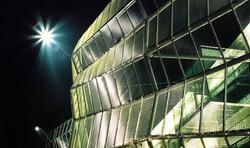 WUERO Nacht Fassade