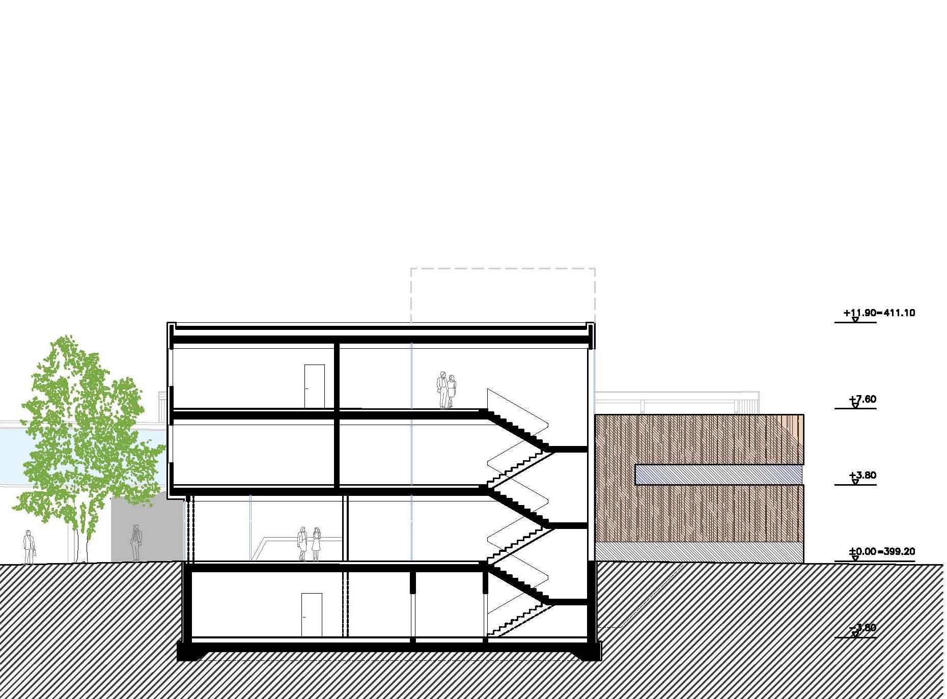 Wettbewerb Neubau BORG Oberndorf