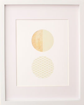 Fine art mid century modern print artwork