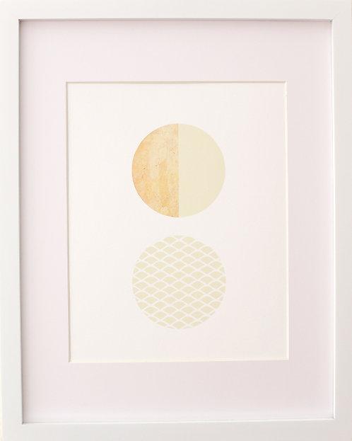 2 Circles Print