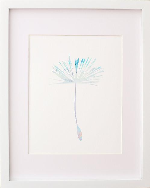 Dandelion Seed Print