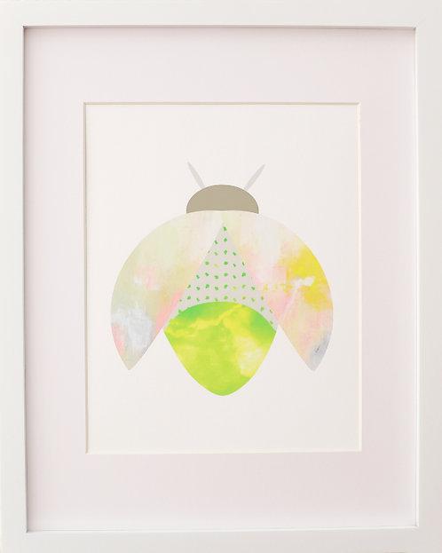 Lightning Bug Print