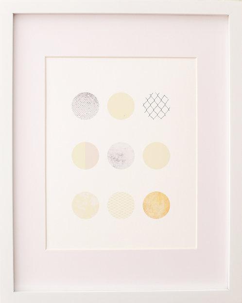 Grid Circles Print