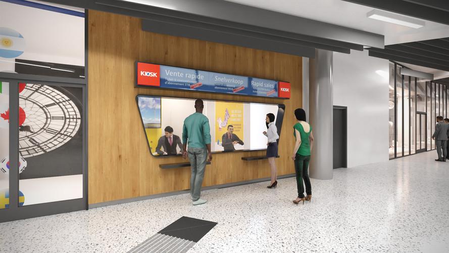 Métro Gare Centrale