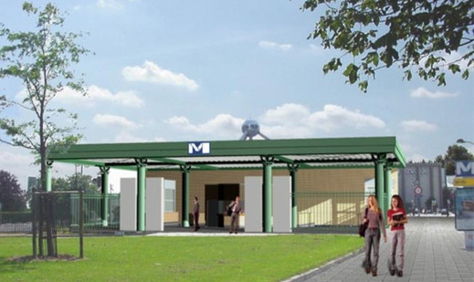 Metro Station King Baudouin