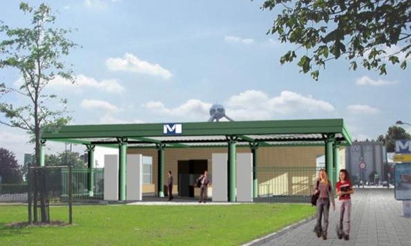 Metrostation Koning Boudewijn