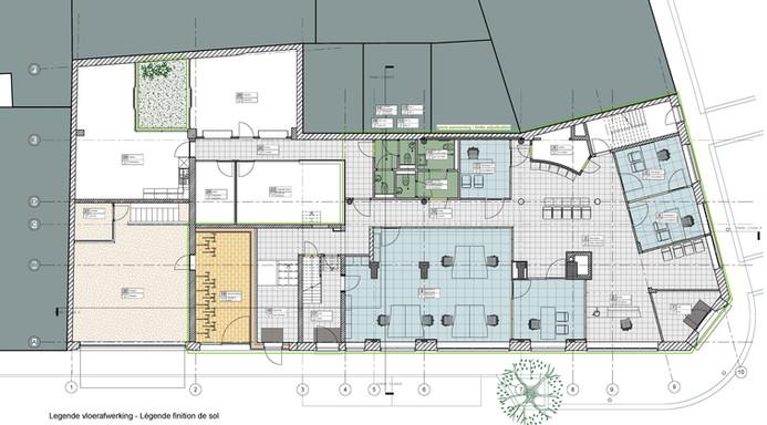 Federale Pensioendienst - Fase 1: Turnhout