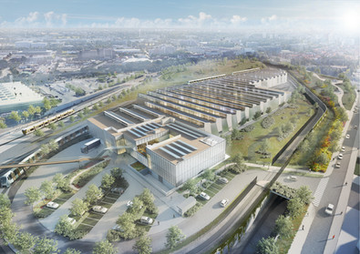 Brussels Metro North - Depot