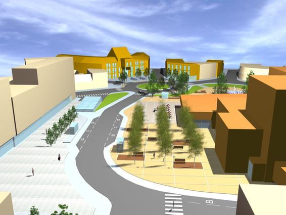 Heraanleg Gemeenteplein te Strombeek-Bever