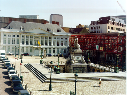 Martyrs Square in Brussels