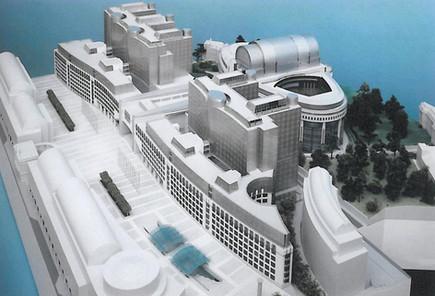 Parlement Européen - Complexe de bâtiments D4 - D5