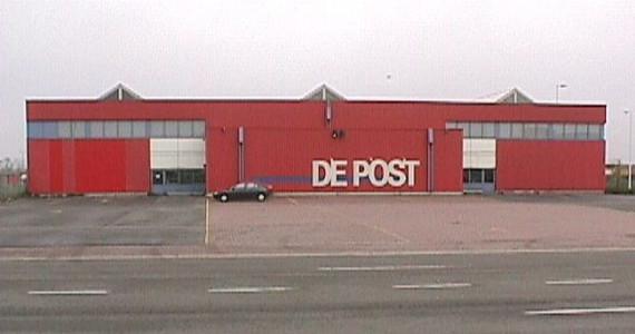 Bâtiment de La poste - Aéroport de Bruxelles National