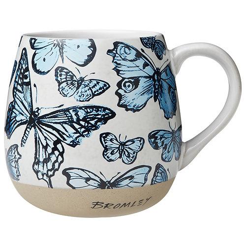 Blue Butterflies - Hug Me Mug