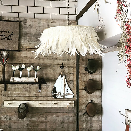 Feather Chandelier - light