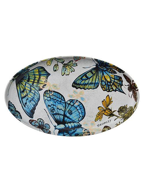 Butterflies - Oval Platter