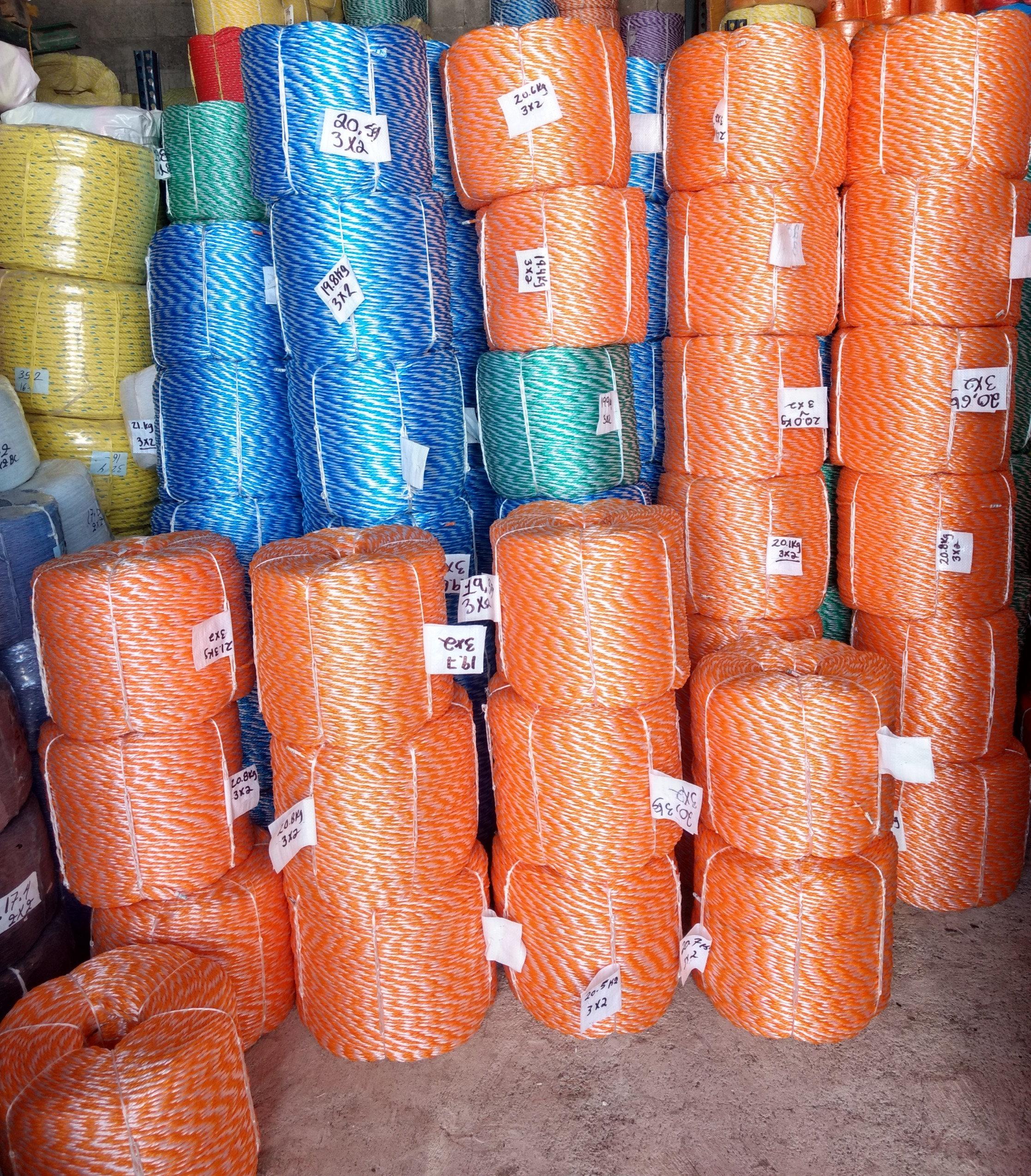 Hornrope 6mm 50m 3200 kg de plástico cuerda para cabrestantes fibras sintéticas cuerda todoterreno