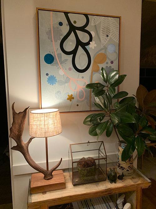 Antler lamps - single