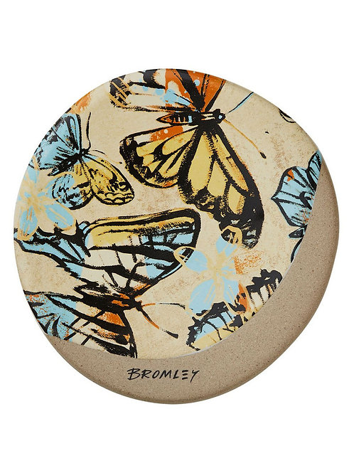 Yellow Butterflies - Coaster