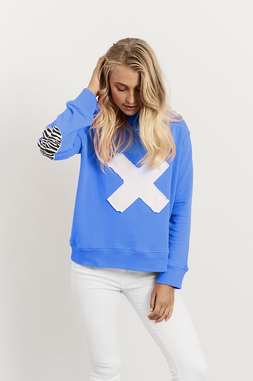 Cross Windy - Royal Blue