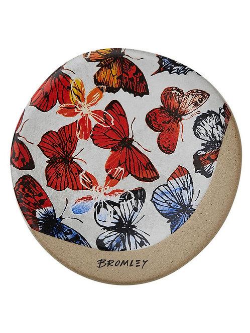 Red Butterflies - Coaster