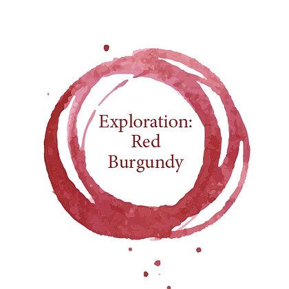 Exploration - Red Burgundy