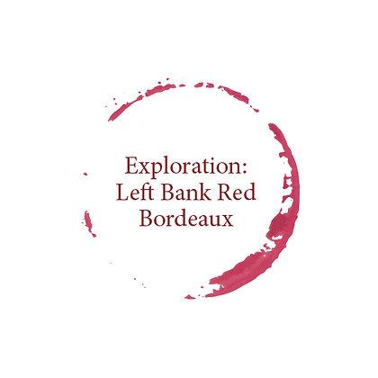Exploration - Left Bank Red Bordeaux