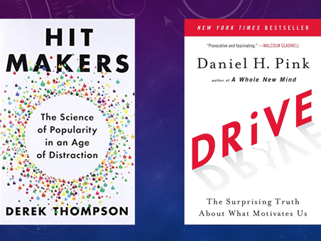Two Reviews: Drive and Hit Makers