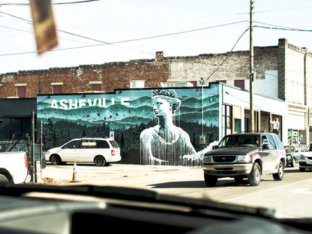 """""""A Mask and a Minivan"""" - Our Pandemic Road Trip (Part 1 - Asheville)"""