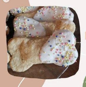 Fun Confetti Cookie Bone