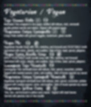 phoeve yours menu