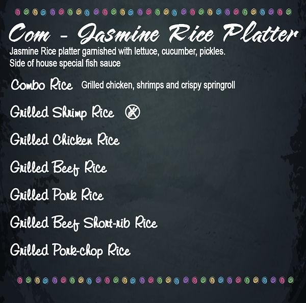 pho-ever yours menu