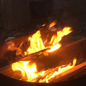 Campfires in California?