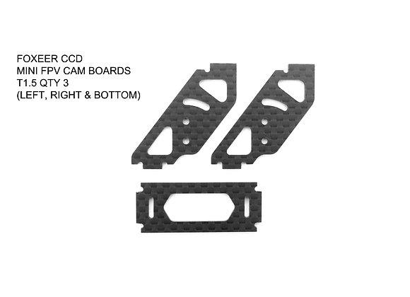 RD-015 / FOXEER CCD  MINI FPV CAM PLATE SET