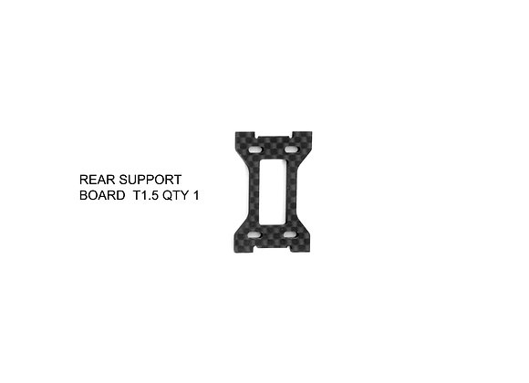 RD-015 / REAR SUPPORT  PLATE