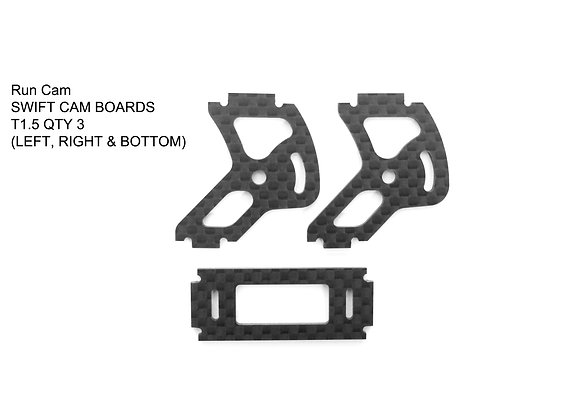 RD-015 / Run Cam  SWIFT CAM PLATE SET