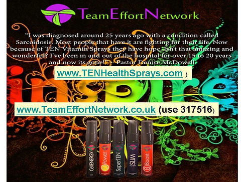 Team Effort Network Spray testimonials