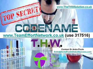 Top secret is out! The THW Solution!