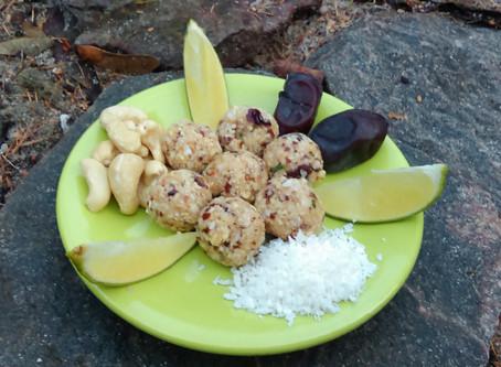 Limonkowo - kokosowe kulki szczęścia