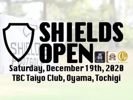 第16回SHIELDS OPENの参加受付は12月2日正午から