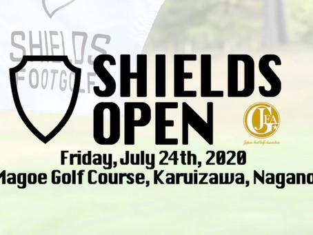 第11回Shields Openの参加受付は6月21日正午から