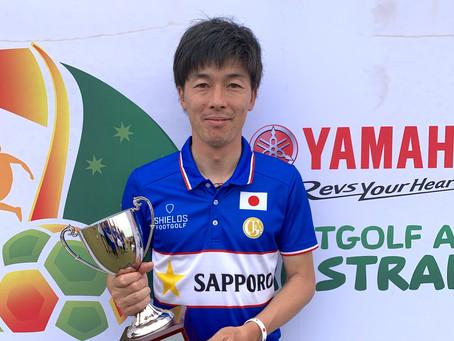 安村選手、前田選手がアジア王者に!2019 Yamaha FootGolf Asia Cup