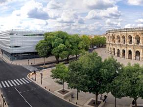 Steden-korte vakanties: Musée de la Romanité in Nîmes