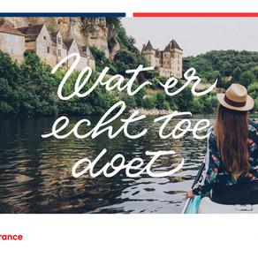 Europese Campagne herstel toerisme in Frankrijk 2021