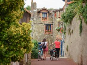 Virtual Travel to France: Atlantische Loirestreek, kastelen, wijn en heerlijk fietsen