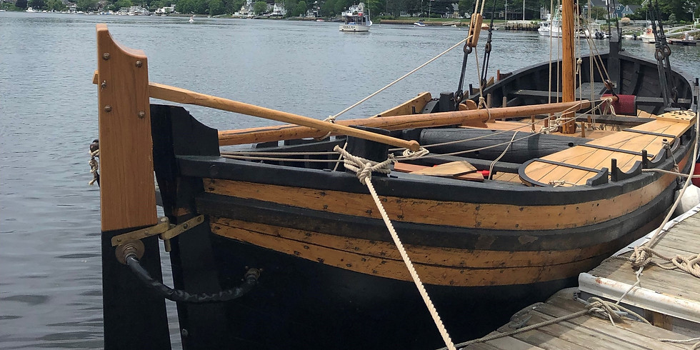 Mayflower II's Fuller Shallop Private Reception