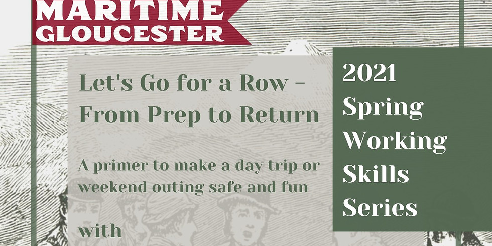 Let's Go for a Row - From Prep to Return