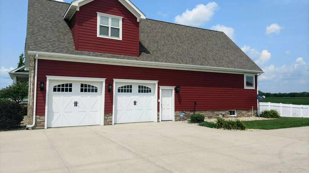 Garage Exterior Painted