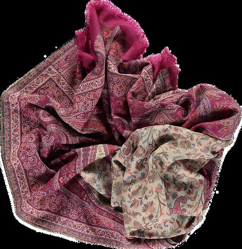 Indian Wool Kani shawl